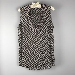 Pleione Polyester Coverup Blouse Sz Small